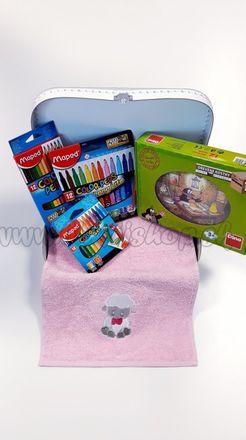 Darčekový kufrík pre deti Kocky Krtko Midi dievča / chlapec