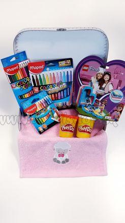 Darčekový kufrík pre deti Lego Friends Maxi