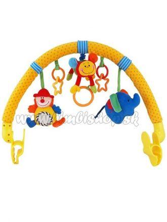 Hračka na kočík Baby Mix Clown podľa obrázku