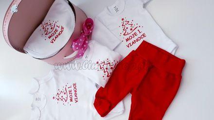 Skladom Plienková torta kufrík 1.Vianoce ružový