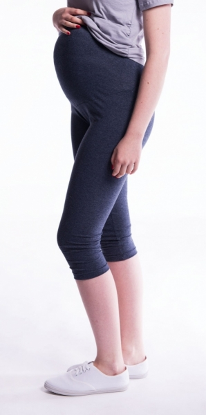 Tehotenské farebné legíny 3 4 dĺžky - červená M - Detské oblečenie ... bd066f8b5f