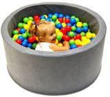 Bazén pre deti 90x40cm kruhový tvar + 200 balónikov.