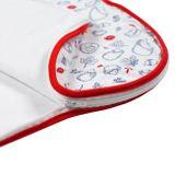 Dojčenský zateplený spací vak New Baby Hedgehog červený Červená 74 (6-9m)