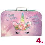 Darčekový kufrík pre predškoláčku MINI dievča ružová