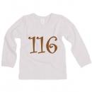 Tričko dlhý rukáv veľ. 116