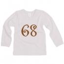 Tričko dlhý rukáv veľ. 68 (4-6mes)