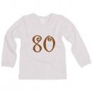 Tričko dlhý rukáv veľ. 80 (9-12mes)