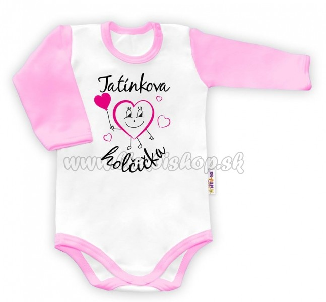 f40d147b9 Body dlhý rukáv Ockovo dievčatko - Detské oblečenie, kojenecké ...