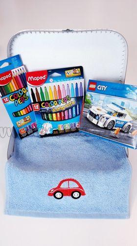 Darčekový kufrík pre chlapca deti Lego City Mini