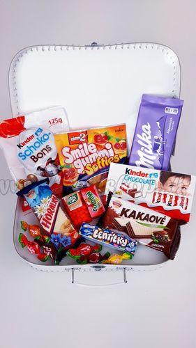Darčekový kufrík pre deti Sladkosti Mini dievča / chlapec