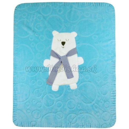 Detská deka Koala Polar Bear modrá