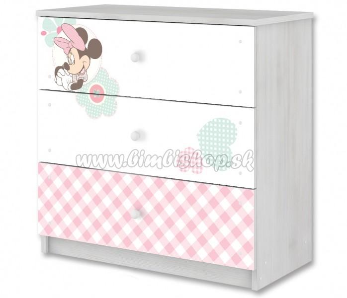 833e7db12d4e Disney detská komoda - Minnie - Detské oblečenie