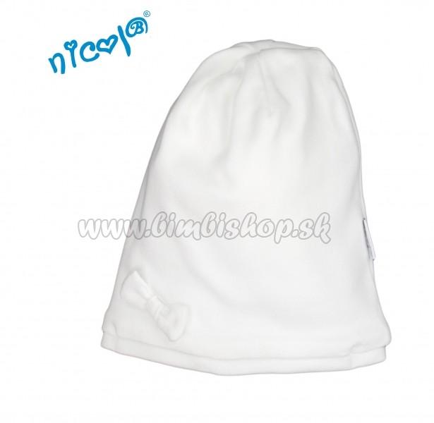 d20fe1c99 Dojčenská čiapočka Nicol Lady - biela - Detské oblečenie, kojenecké ...