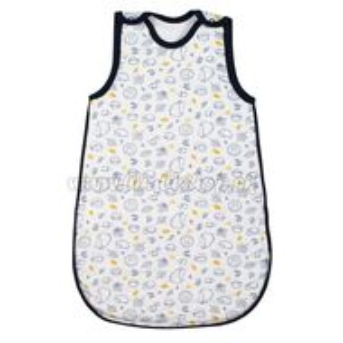 Skladom Dojčenský zateplený spací vak New Baby Hedgehog modrý modrá 50/56
