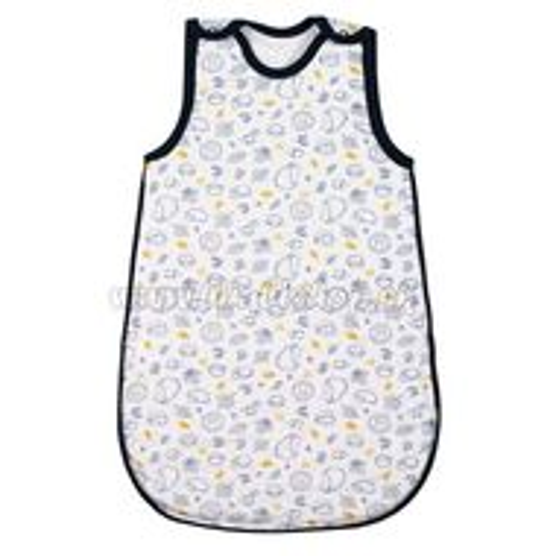 Skladom Dojčenský zateplený spací vak New Baby Hedgehog modrý modrá 68/74