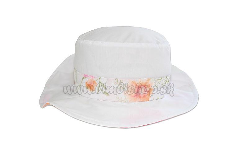 93e8b4bb9 klobúk mašľa vzadu - 052 - ružová - Detské oblečenie, kojenecké ...