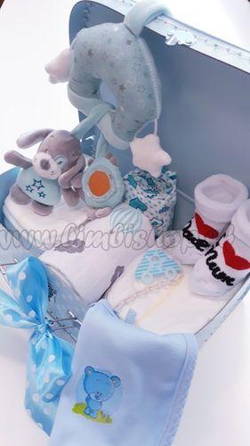 Skladom Plienková torta Hviezdička kufrík modrá