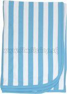Detská deka, dečka Lev prúžok 80x90 - bavlna