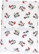 Detská deka, dečka Panda 80x90 - bavlna