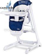 Detská jedálenská stolička 2v1 Caretero Indigo navy modrá