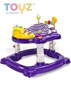 Detské chodítko Toyz HipHop 3v1 fialové fialová