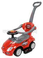 Detské jazdítko 3v1 Bayo Mega Car red Červená