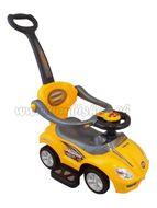 Detské jazdítko 3v1 Bayo Mega Car yellow Žltá
