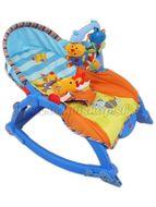 Detské lehátko 2v1 Bayo blue modrá