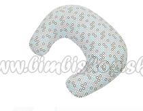 Dojčiace vankúš - relaxačná poduška malá, silikónové duté vlákno Medvedík kostička - Minky