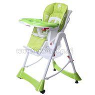 Jedálenský stolček ECO TOYS - béžový
