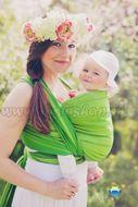 Little FROG Tkaný šatka na nosenie detí - BERYL