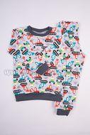 Skladom Detské pyžamo Bager farebná