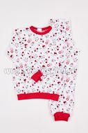 Skladom Detské pyžamo Lienka biela/červená