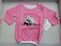 Skladom tričko dlhý rukáv Mamatti Tučniak