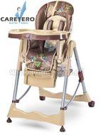 Jedálenská stolička CARETERO Magnus Fun beige béžová