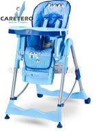 Jedálenská stolička CARETERO Magnus Fun blue modrá