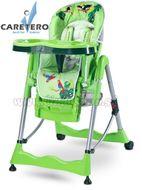 Jedálenská stolička CARETERO Magnus Fun green zelená