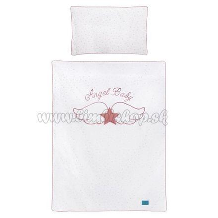 6-dielne posteľné obliečky Belisima Angel Baby 100/135 ružové ružová