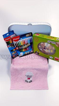Darčekový kufrík pre deti Kocky Krtko Mini dievča / chlapec