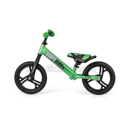 """Detské odrážadlo bicykel Milly Mally Speedway 12"""" green zelená"""
