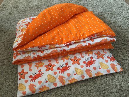 Handmade Detské obojstranné posteľné obliečky 135x100 podľa vlastného výberu vzoru látky