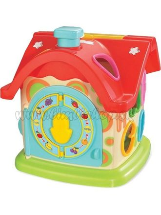 Edukačná hračka Baby Mix zábavný domček podľa obrázku