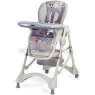 9adac77074a0 Jedálenská stolička CARETERO Magnus New graphite sivá