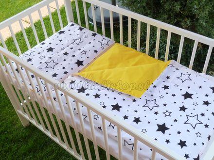 Skladom Handmade Detské obojstranné posteľné obliečky 120x90