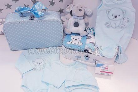 Skladom Plienková torta plienkový kufrík Royal Hviezdička modrá