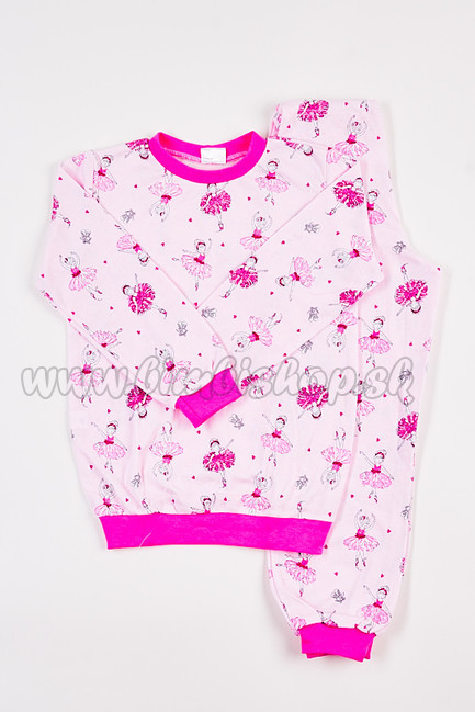 dd0e48f6f Detské pyžamo Baletka ružová/ružová | BimbiShop.sk