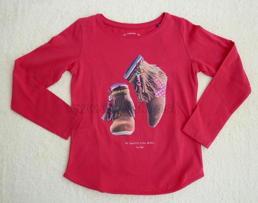 a6507b02e2d1 Skladom Tričko dievča Tom Tailor ružová - Detské oblečenie ...