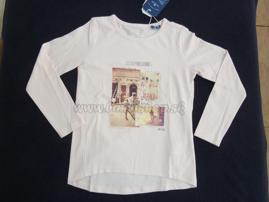 Skladom Tričko dievča Tom Tailor sv.ružová - Detské oblečenie ... 666eed1ae6e