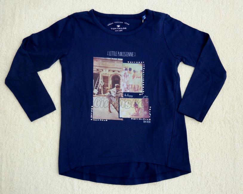 a639e221fc8b Skladom Tričko Tom Tailor tm.modrá Pariž 92 98 - Detské oblečenie ...